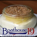 Lemon Cheesecake, boathouse 19