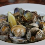 clams, boathouse 19, tacoma